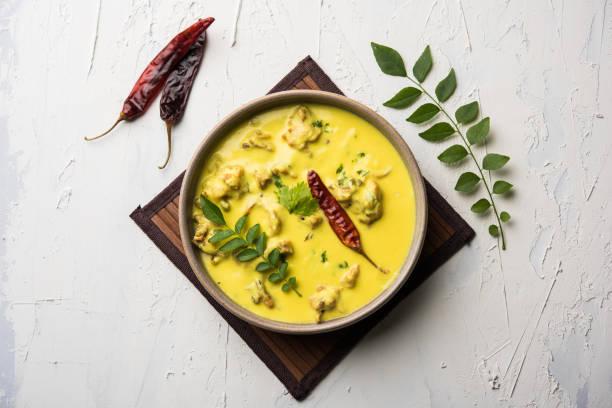 Kadhi Pakoda oder Pakora, indische Küche, selektiven Fokus – Foto