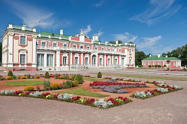 kadriorg art museum in tallinn, estonia - estonya stok fotoğraflar ve resimler