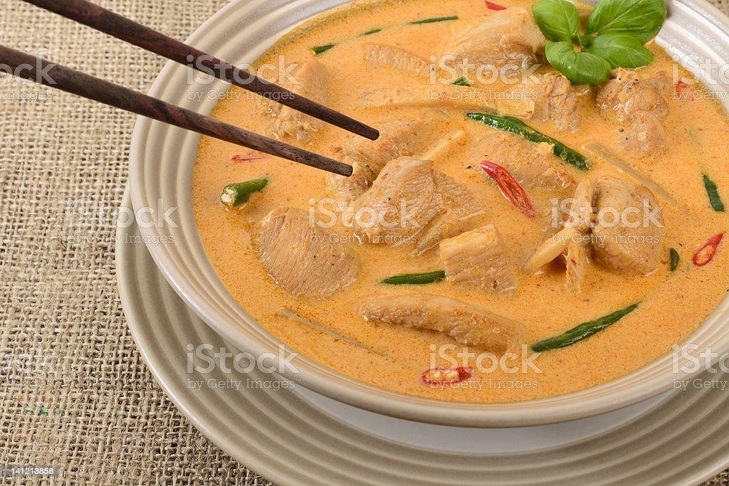 Kaeng Phet Gai royalty-free stock photo
