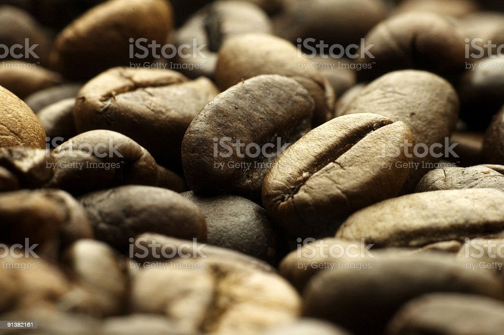 Kaffebohnen royalty-free stock photo