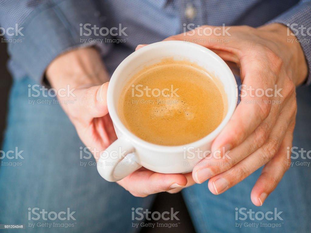 Kaffee, Getränk stock photo