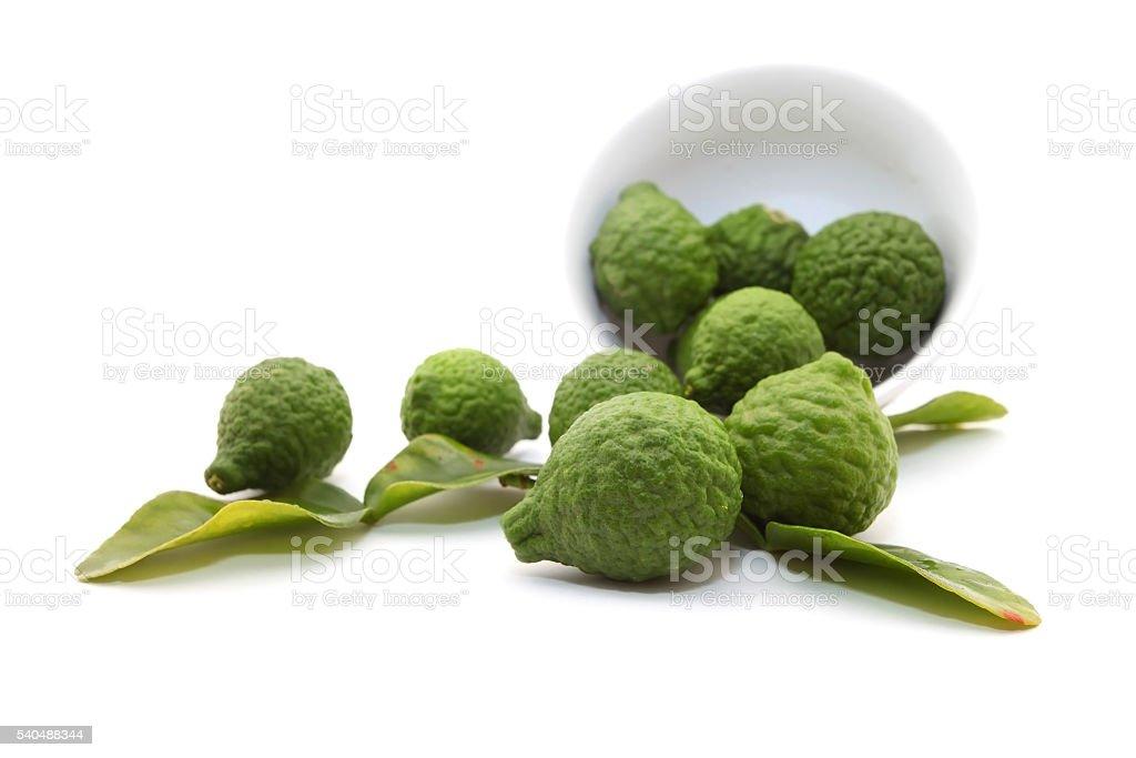 Kaffir lime stock photo