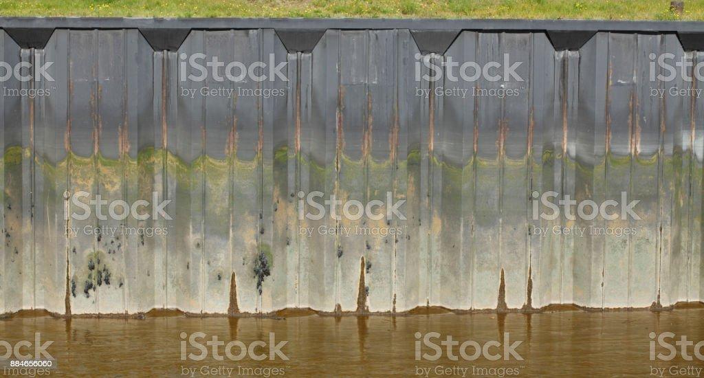 Kai, Kaimauer stock photo