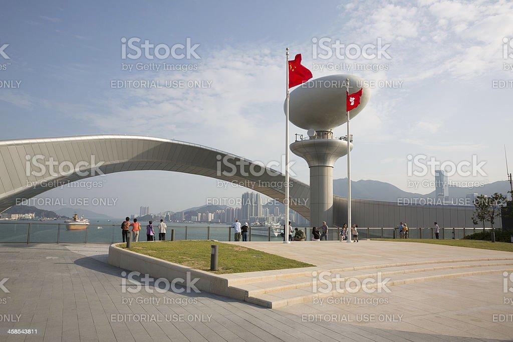 Kai Tak Cruise Terminal royalty-free stock photo