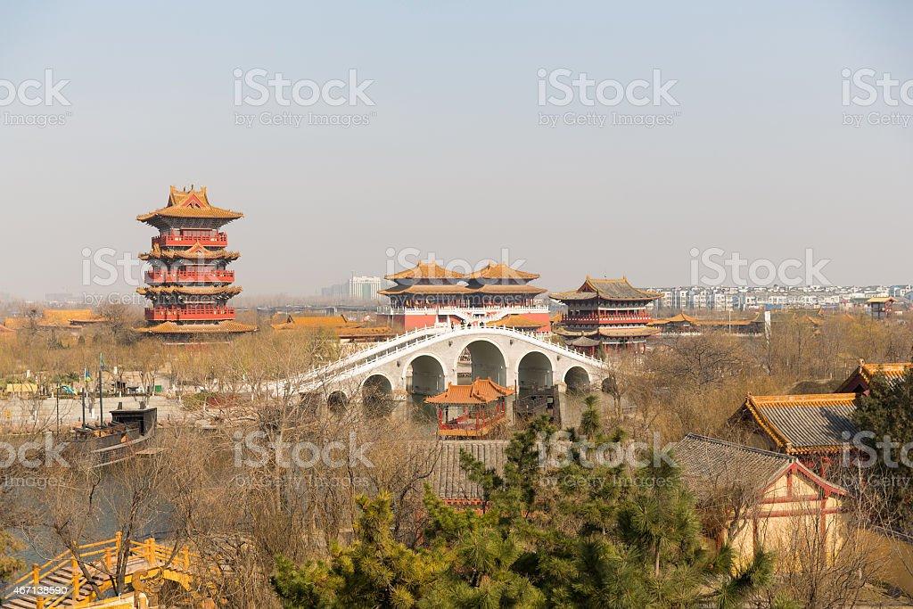 Kaifeng, Henan province, China stock photo