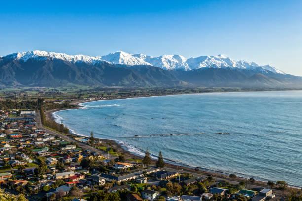 Kaikoura New Zealand stock photo