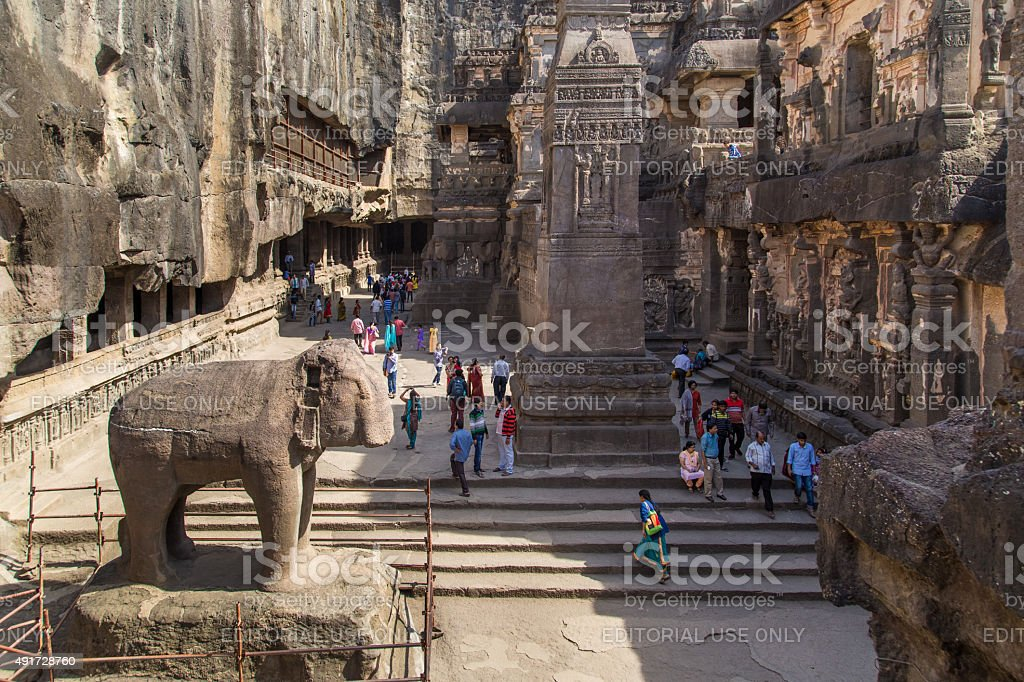 Kailasa Temple stock photo