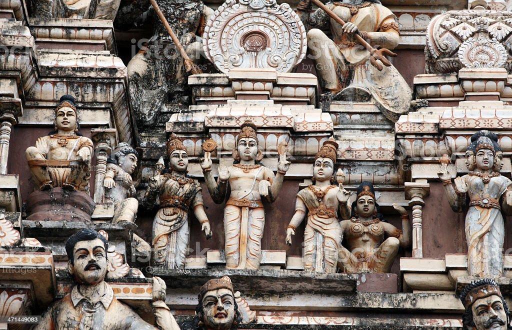 Kailasanathar Temple royalty-free stock photo
