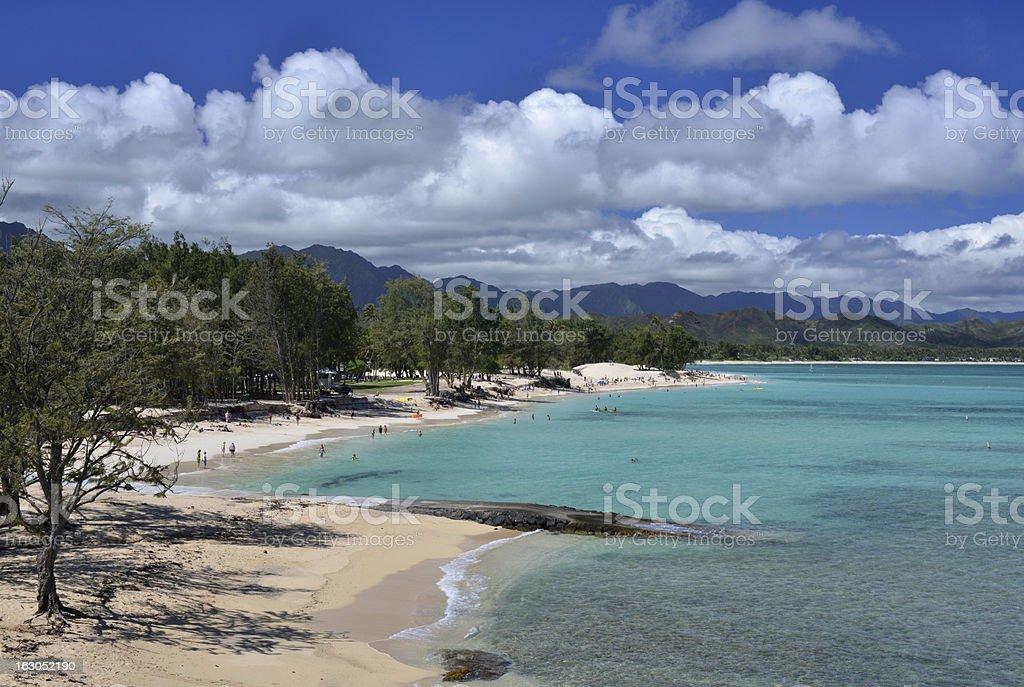 Kailua Beach, Hawaii stock photo