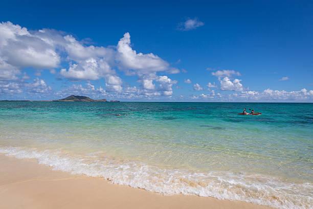 Kailua Beach, Oahu, Hawaii, Usa – Foto