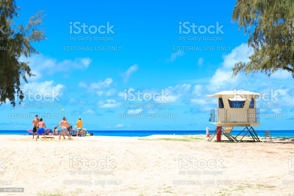 Kailua Beach Park Stock Photo Download Image Now Istock