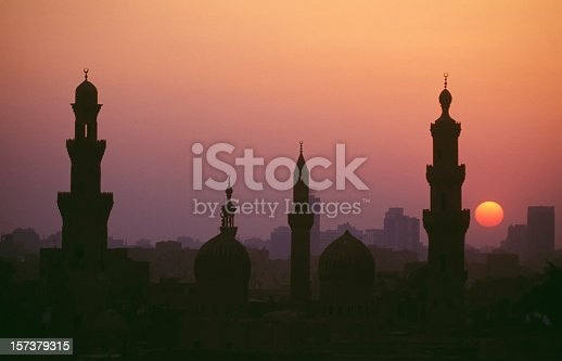 istock Kairo sunset 157379315