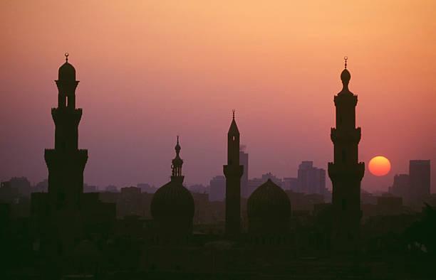 Kairo sunset Kairo sunset  minaret stock pictures, royalty-free photos & images