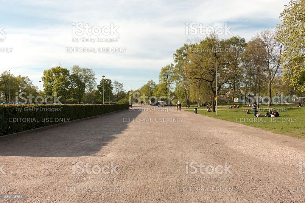 Kaisaniemenpuisto Park royalty-free stock photo