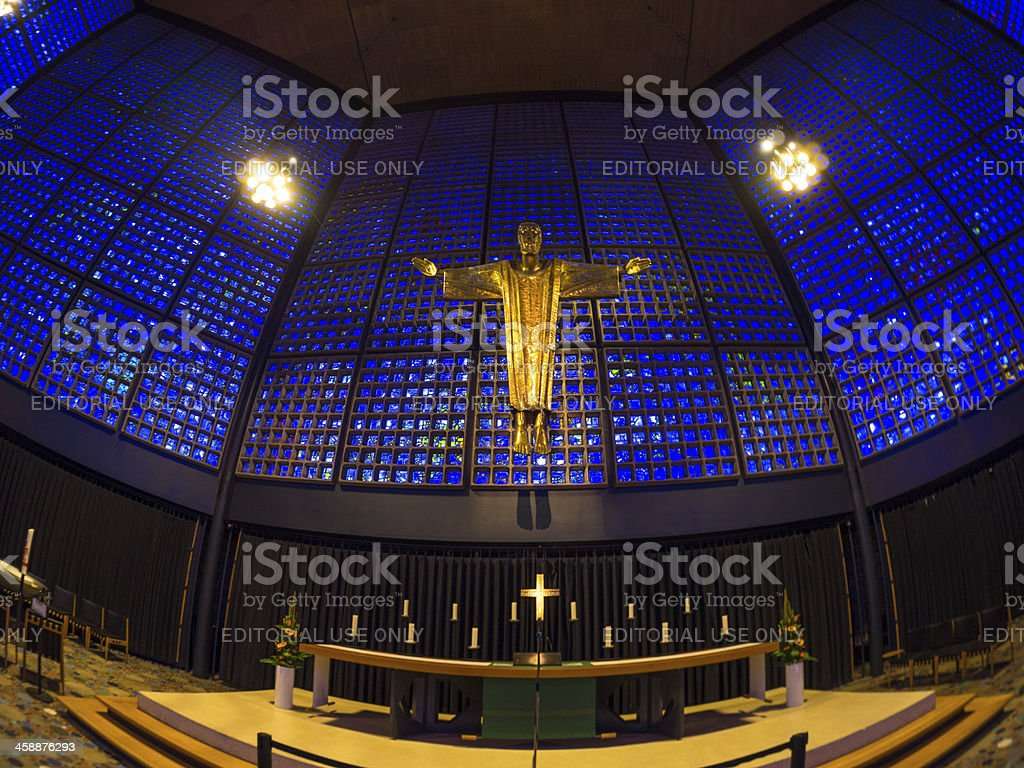 Kaiser Wilhelm Memorial Church Stock Photo More Pictures Of Altar