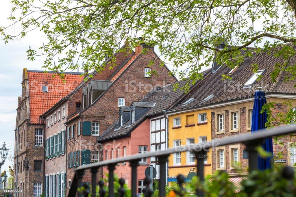 kaiserswerth duesseldorf germany stock photo
