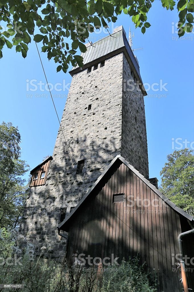 Kaiserturm in the Forest of Odes stock photo