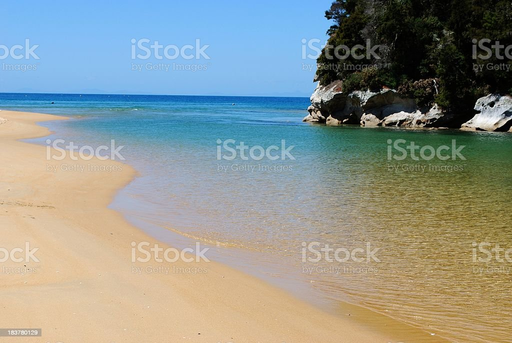Kaiteriteri Inlet, Nelson, NZ stock photo