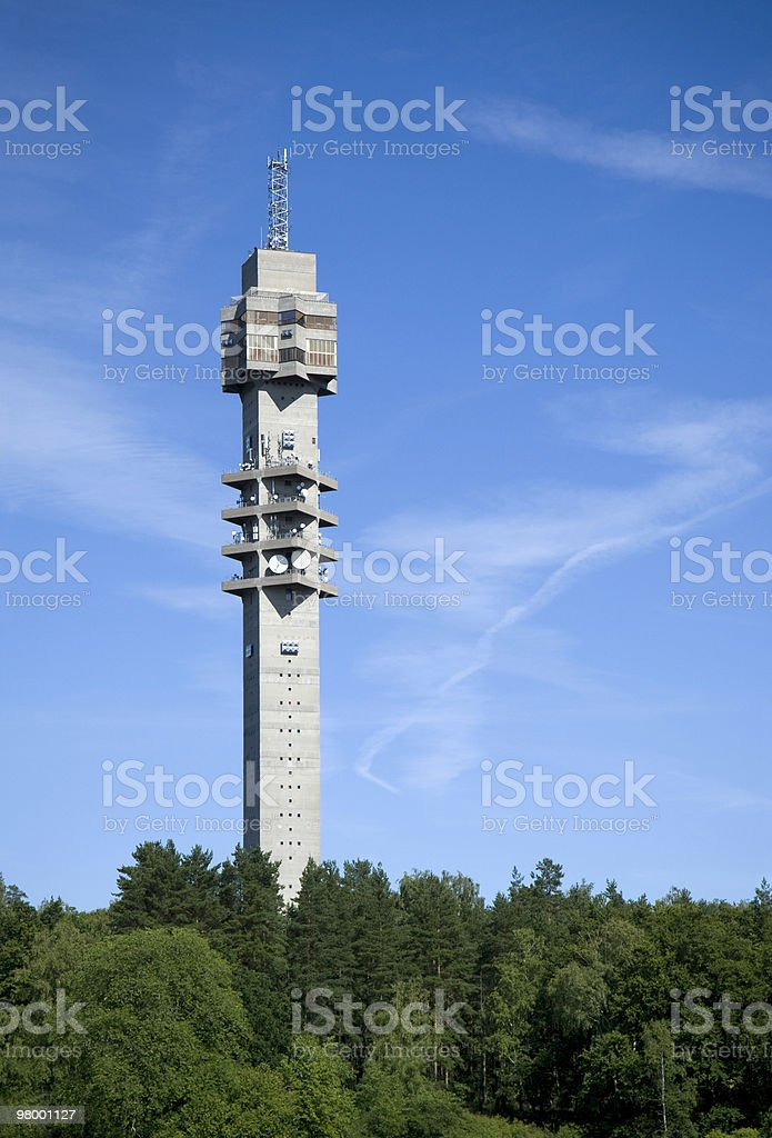 Kaknäs tower royalty-free stock photo