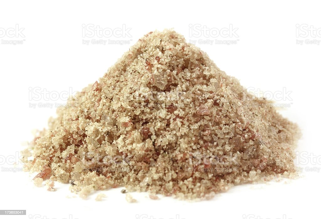 Kala namak or Black salt of South Asia royalty-free stock photo
