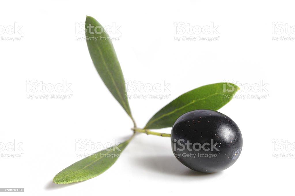 Kalamata Olive royalty-free stock photo