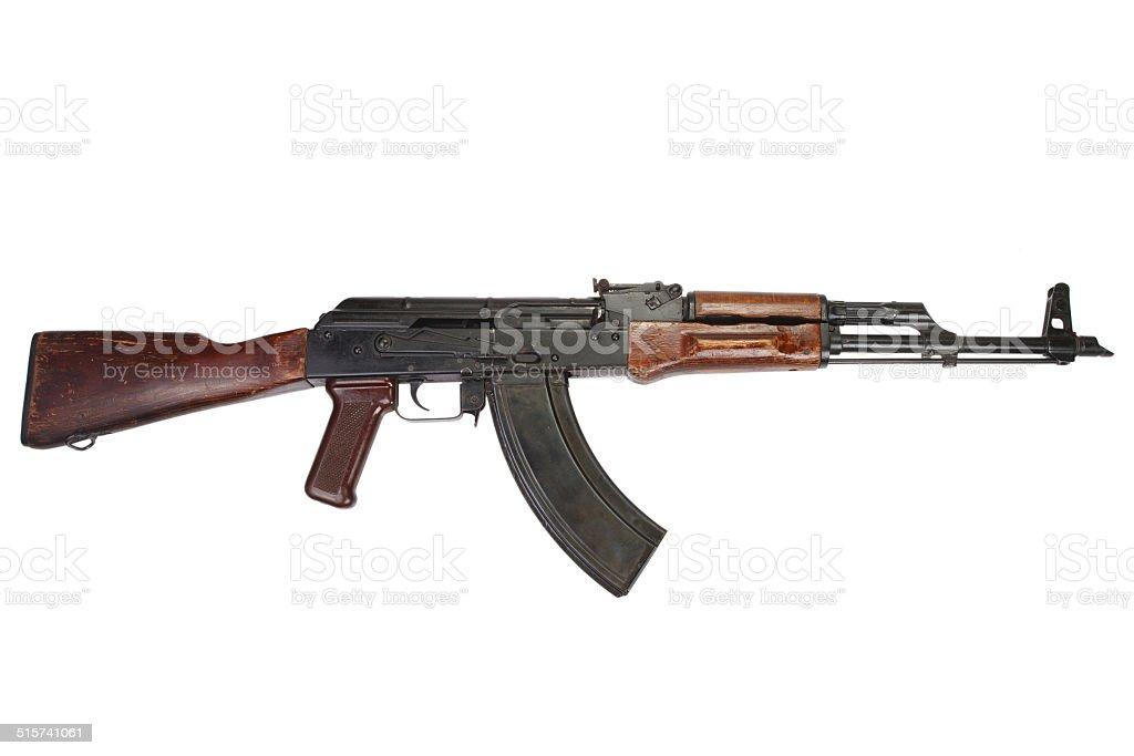 Kalashnikov AK stock photo