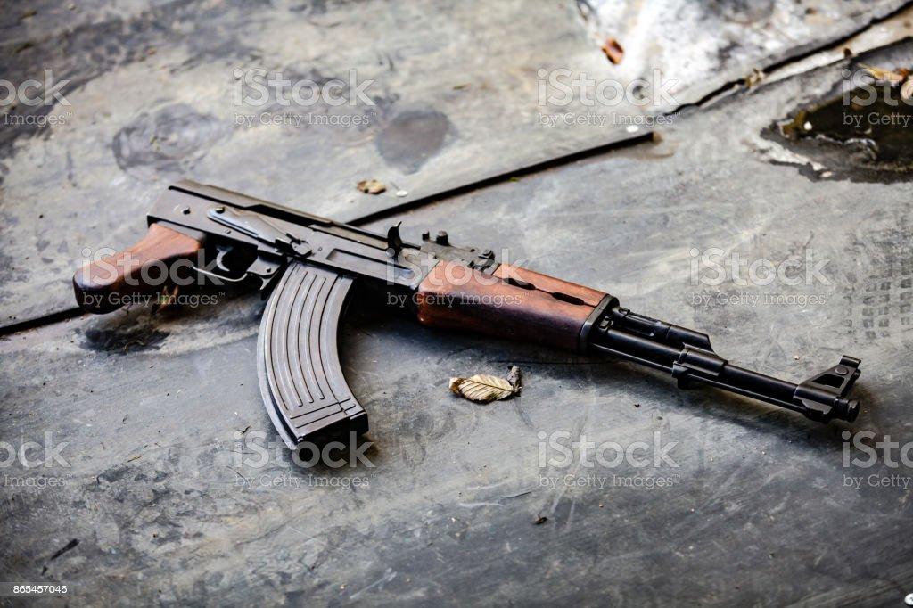 AK-47 Kalashnikov stock photo