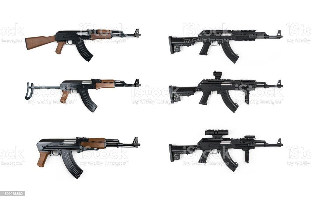 AK47 Kalashnikov Tactical Gun Series stock photo
