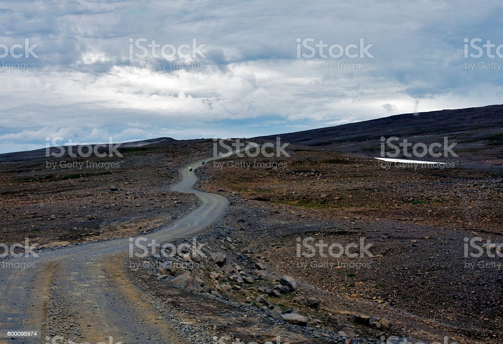 Kaldidalur Valley Iceland stock photo