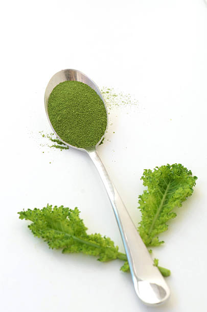 Kale Powder stock photo