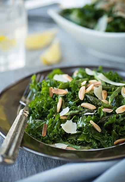 Kale Salad stock photo