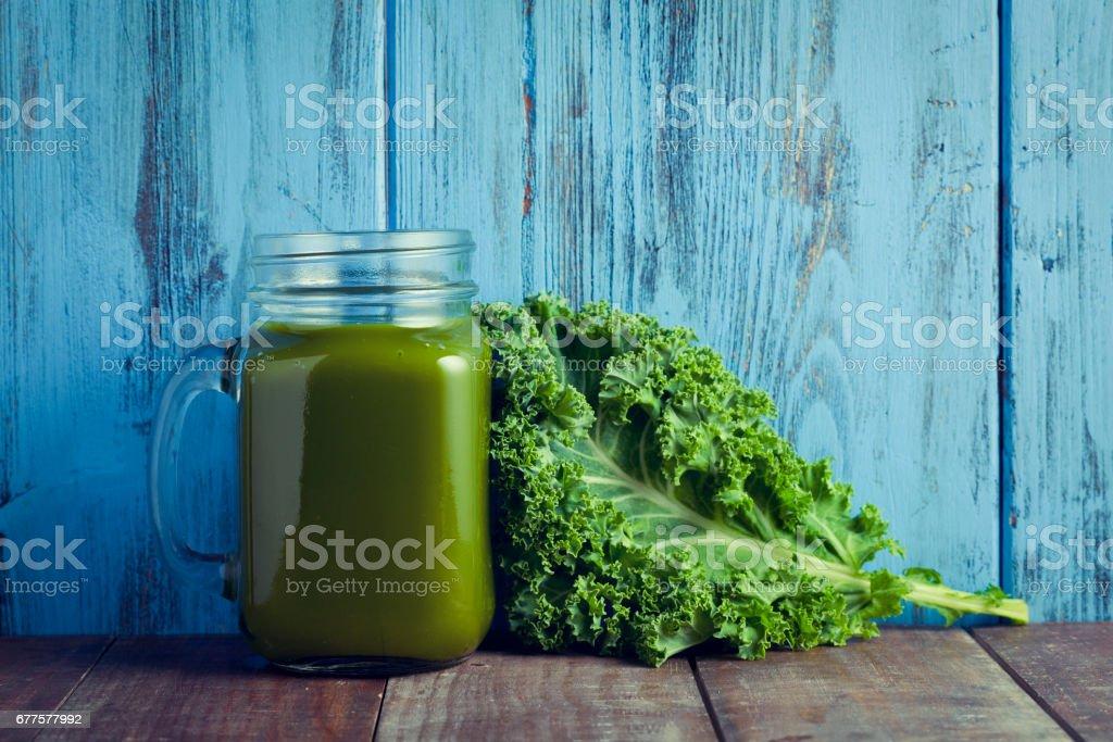 kale smoothie royalty-free stock photo