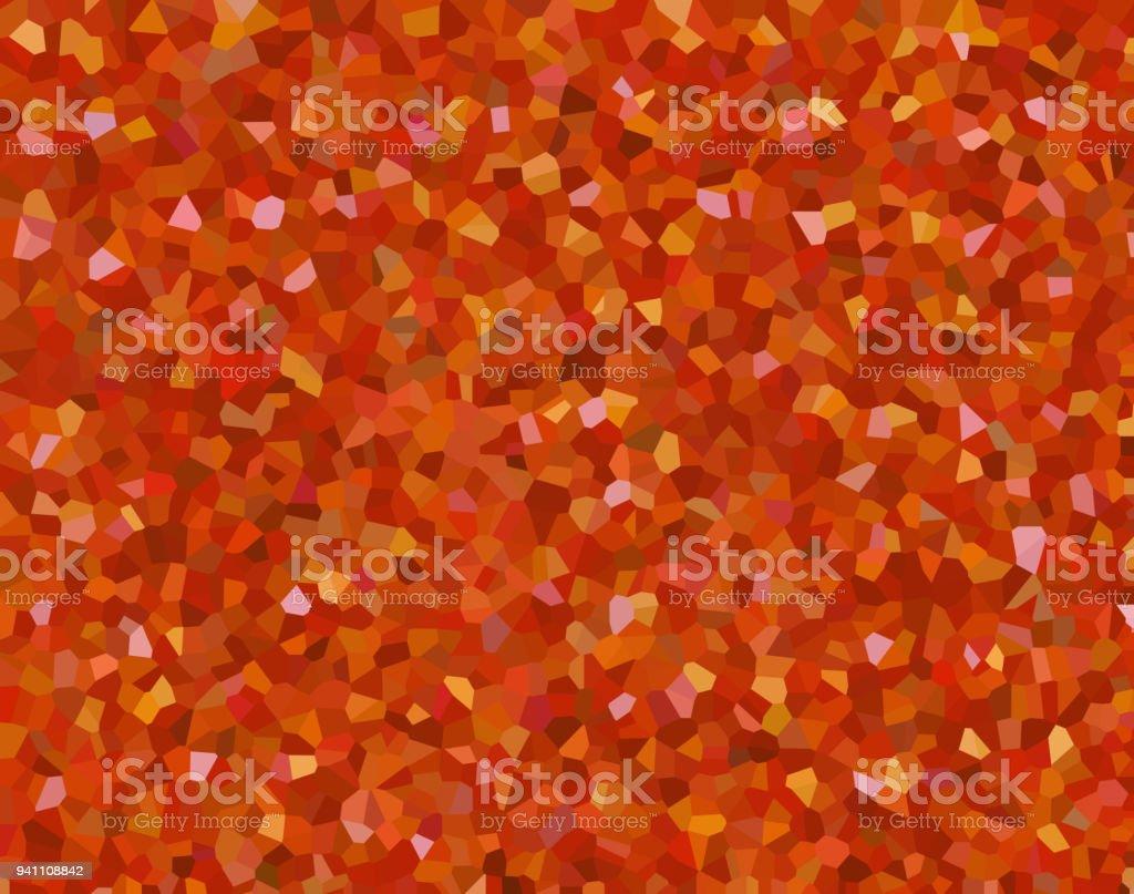 Kaleidoscope Homescreen Wallpaper Orange Light Background Bumpy