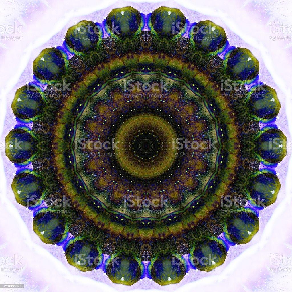 kaleidoscope, mandala colorful background for creative design foto royalty-free