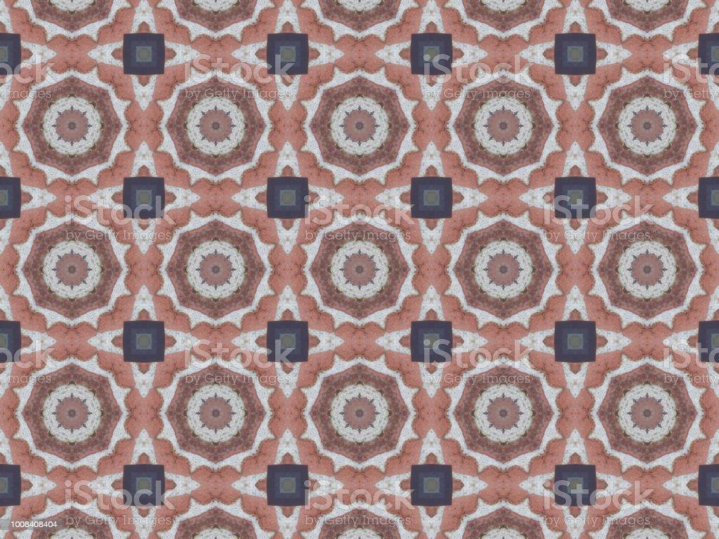 Kaleidoscope Pattern Background 022 stock photo