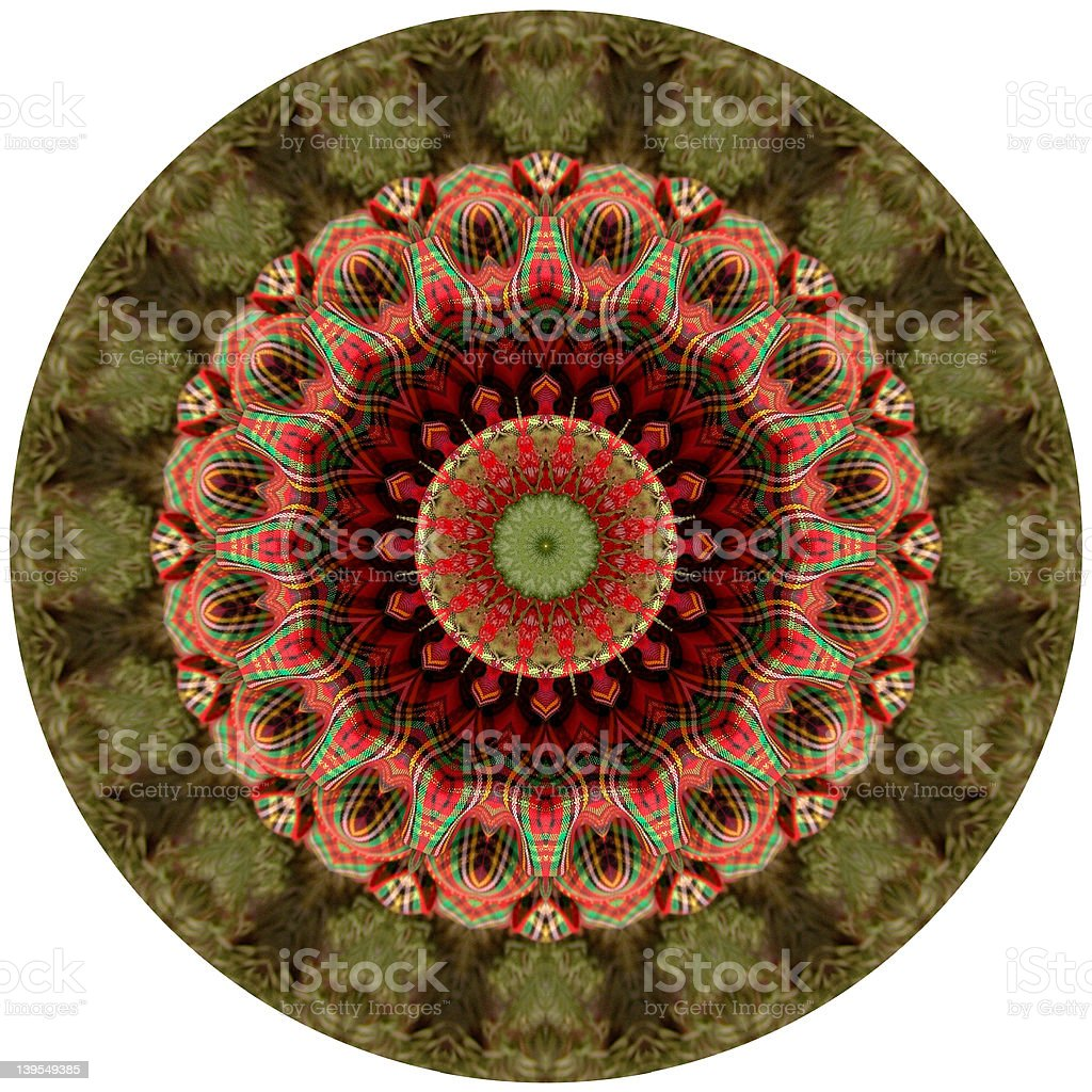 Kaleidoscope Plaid royalty-free stock photo