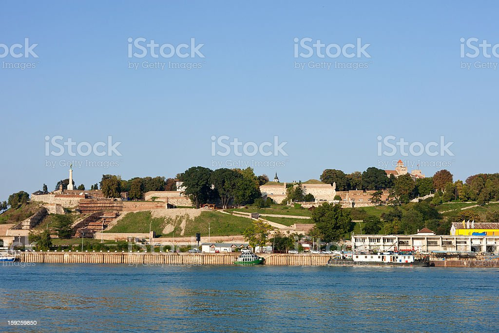 Kalemegdan Fortress In Belgrade, Serbia stock photo