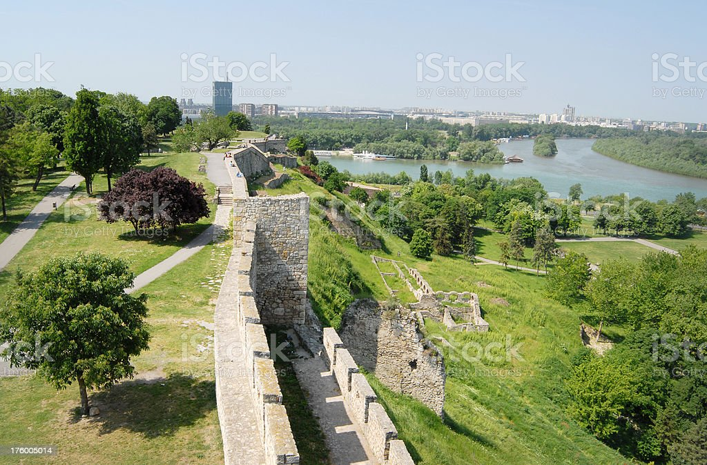 Kalemegdan park royalty-free stock photo
