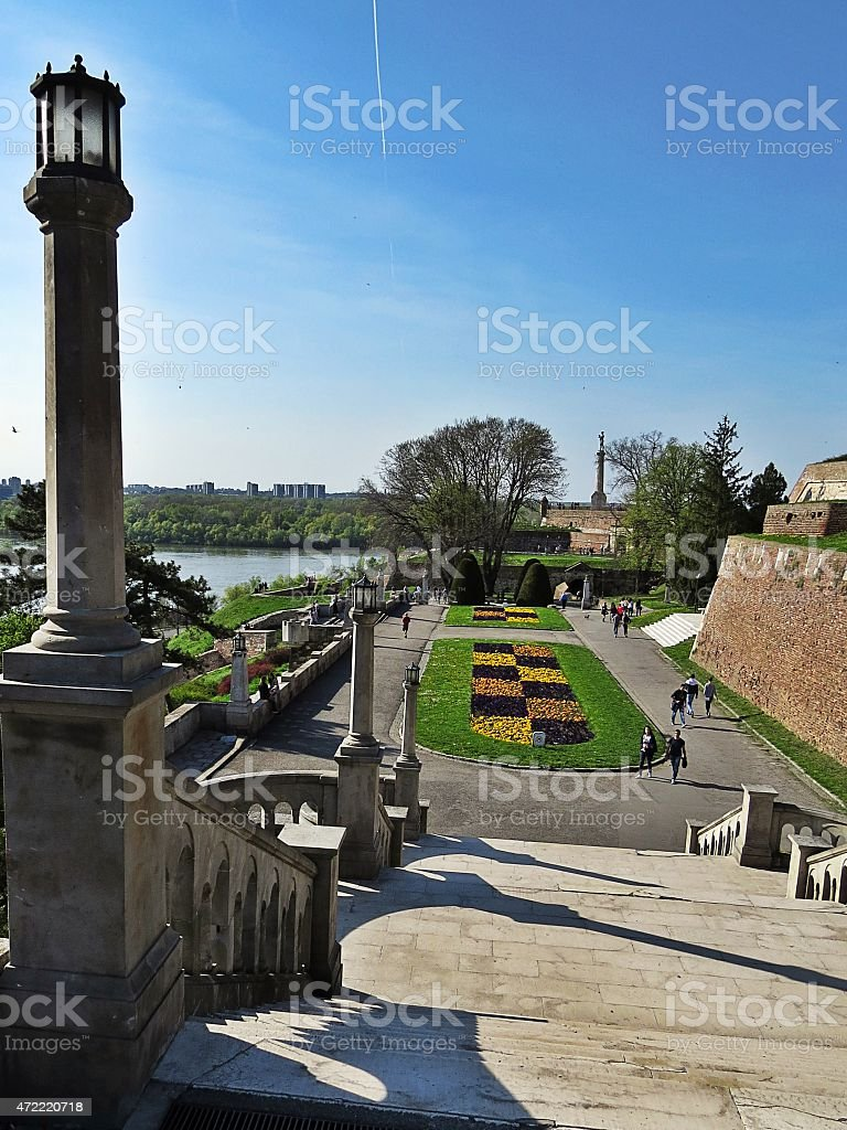 Kalemegdan stock photo
