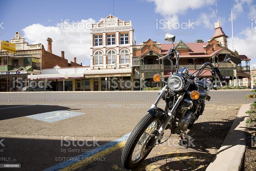 Kalgoorlie Street stock photo