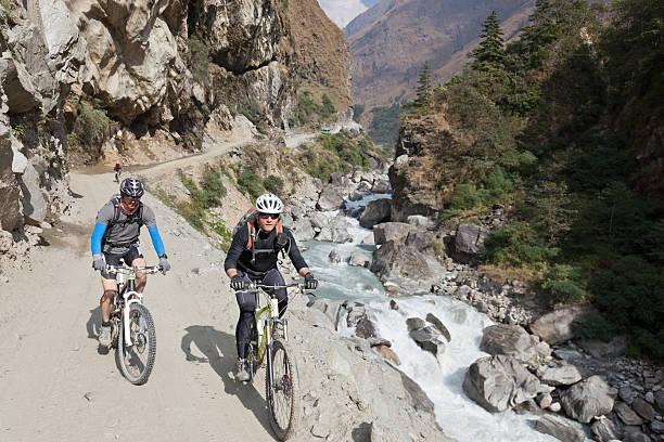 Kali Gandaki stromabwärts Radfahren, Nepal – Foto
