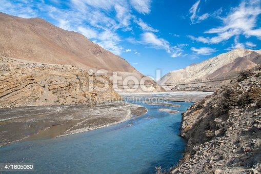 istock Kali Gandaki is a river in Nepal 471605060