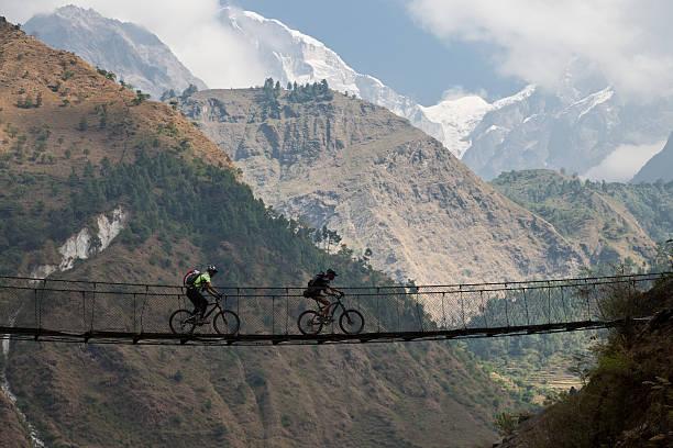 Kali Gandaki Hängebrücke, Nepal – Foto