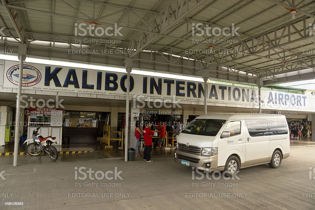 Kalibo International Airport royalty-free stock photo