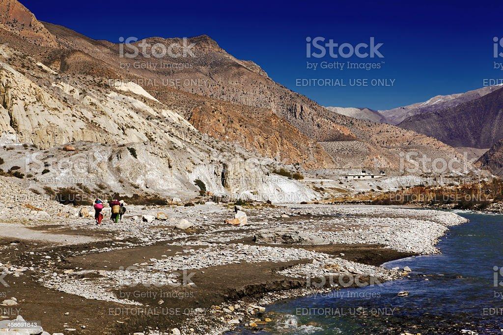 Kali-Gandaki Gorge stock photo