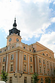 istock Kalisz City Hall 91352646