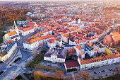 istock Kalisz cityscape at sundown, Poland 1314825502