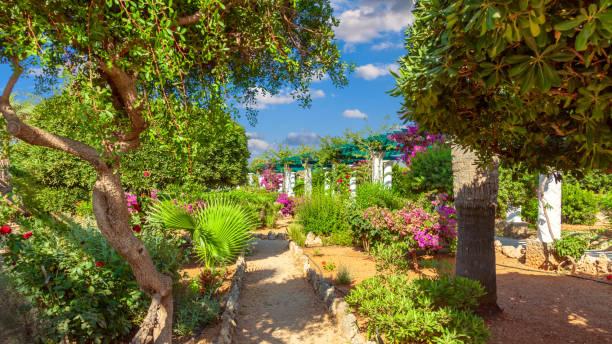 Kalithea Springs Therme spa on Rhodes island stock photo