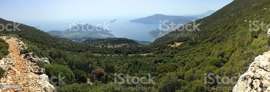 Kalkan, Turkey royalty-free stock photo