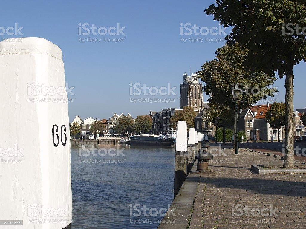 Kalkhaven Dordrecht zbiór zdjęć royalty-free